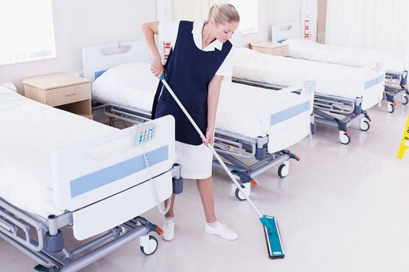 Генеральная уборка в лечебных учреждениях