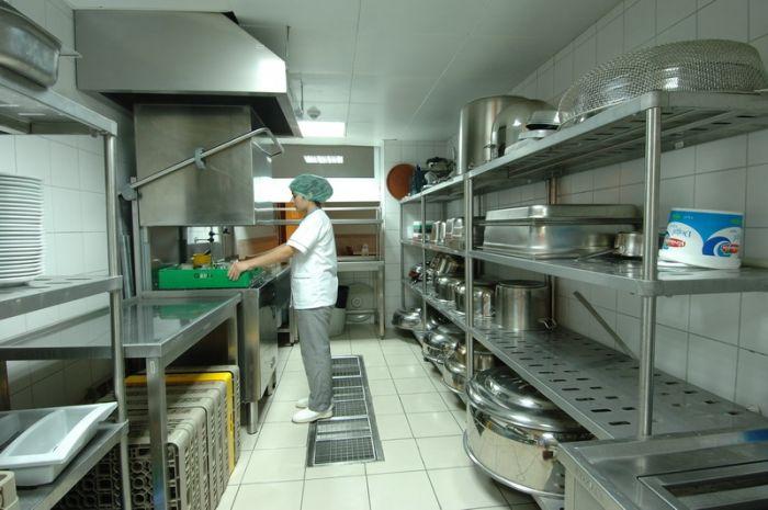 Генеральная уборка на пищеблоке